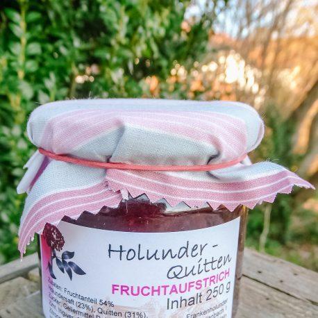 Fruchtaufstrich mit Holunder und Quitte