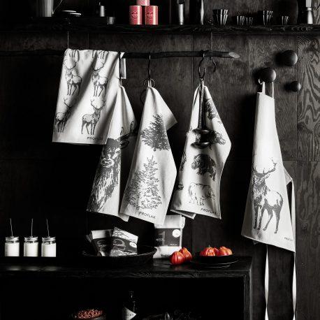 Kiss the Cook, Geschirrtücher und Schürzen von Proflax