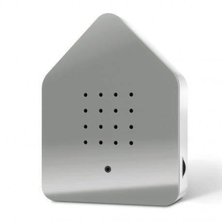 Zwitscherbox grau