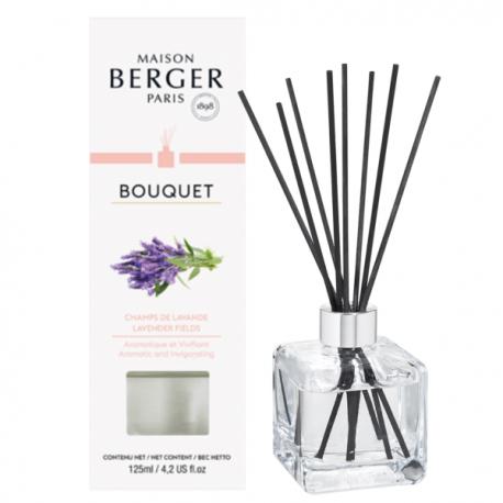 Bouquet Verpackung und Cube mit Stäbchen