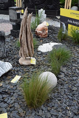 Holz, Stein als abwechslungsreiches Garten Design