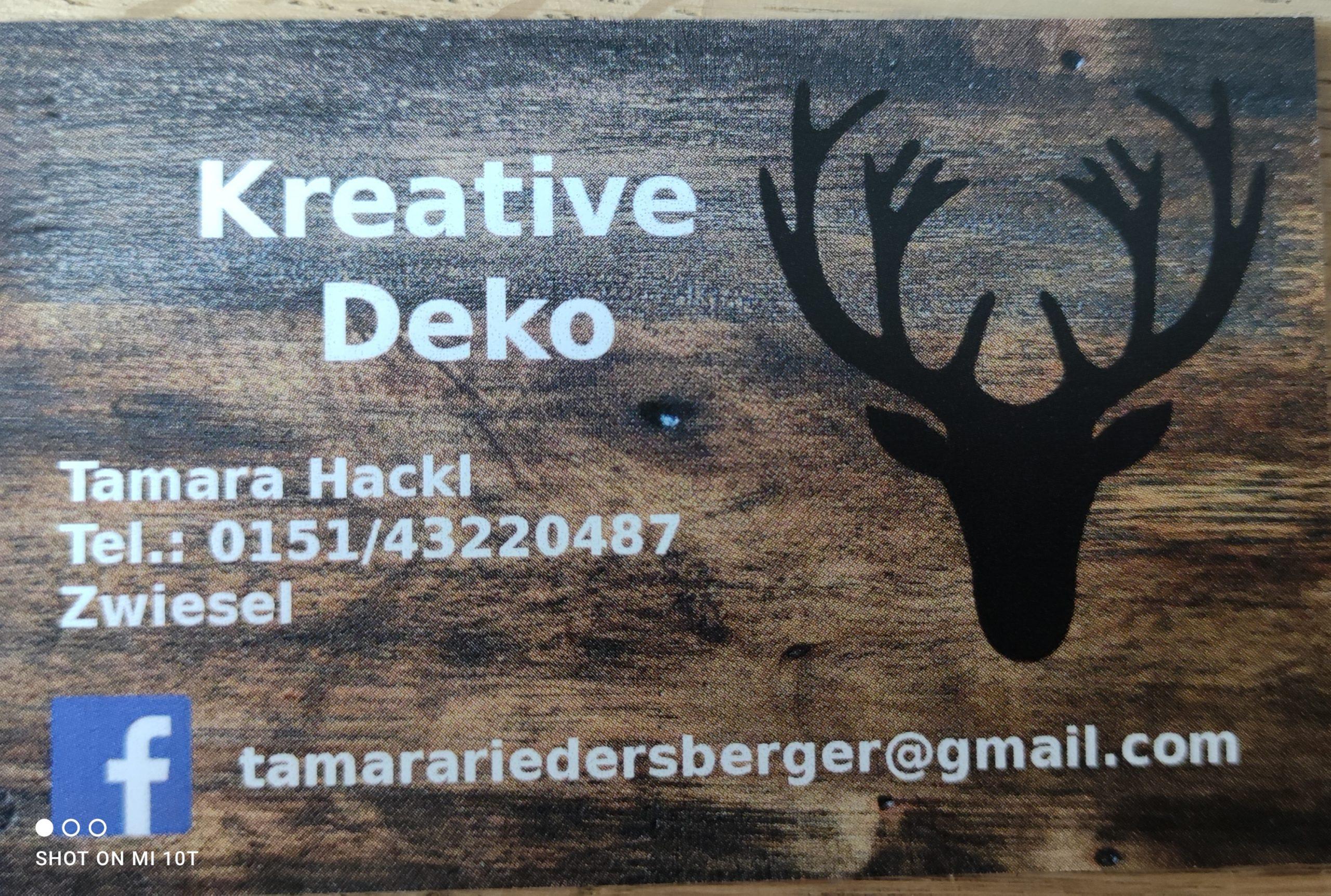 Kreative Deko