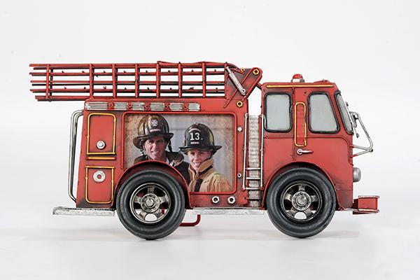 Feuerwehr Auto mit Foto